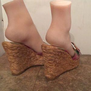 Jessica Simpson Shoes - Jessica Simpson espadrilles wedges sz 6.5